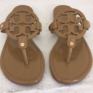Tory Burch Miller Sandals Patent Leather size 7